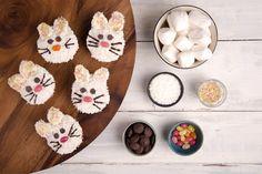Vegan, gluten-free bunny cupcakes: hop to it!