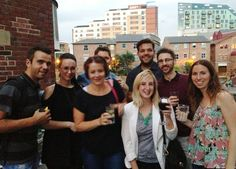 Post-bowling drinks in Leeds #LifeatZeal (2013)