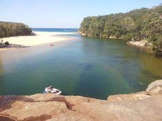 Wattamolla Beach, Lagoon and Cliff Jumping Royal National Park