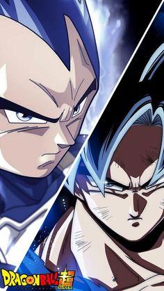 Vegeta y Goku Dragon Ball Gt, Dragonball Super, Dbz Characters, Animes Wallpapers, Anime Comics, Anime Love, Son Goku, Ball Drawing, Manga Books