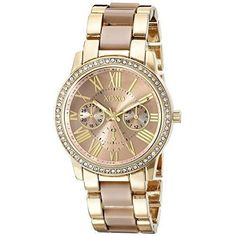 XOXO Womens XO5873 Yellow- And Rose Gold-Tone Watch New