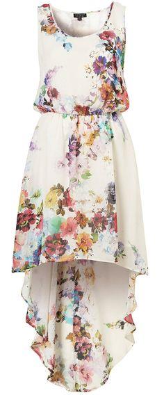 Blossom Dip-Hem Dress