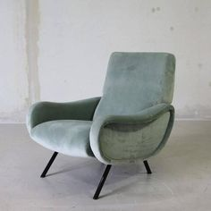 Lady Chair by Marco Zanuso | From a unique collection of antique and modern armchairs at https://www.1stdibs.com/furniture/seating/armchairs/