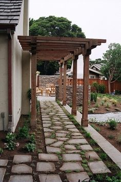 side of the house walkway ideas | walkway by the side of the house?