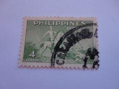4 centavos Philippines postage Stamp