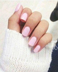 Love this shade of pink nail polish!