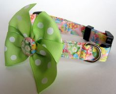 NEW ITEM Easter Egg Dog Collar size Small by jeanamichelle on Etsy, $12.50