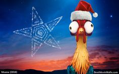 #HeiHei is very good at navigating the #stars :] Even at #Christmas! :}