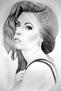 I love drawing especially black and white portraits- I think it shows more emotions than colorful. I stuck with it when I was a child.