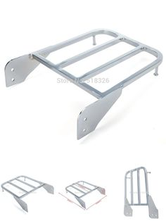 [Visit to Buy] Chrome Sissy Bar Luggage Rack For Suzuki Intruder/Volusia VL800 2001-2011 Boulevard M50 2005-2009 Boulevard C50 2005-2011 #Advertisement