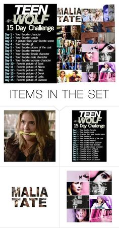 """Teen Wolf 15 Day Challenge: Day 7"" by teenwolfmoosic on Polyvore featuring art"