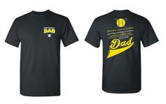 Softball Dad Unisex T Shirt Warm Up Partner Pitching Machine Critic Full Time Dad TShirt Father Gift ball Parent Sports 5000