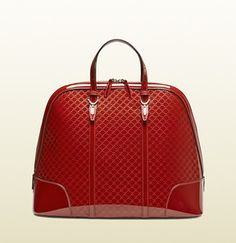 Gucci Nice Microguccissima Patent Leather Top Handle Bag on shopstyle.com