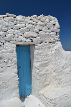 Mykonos Blue by Richard Mansfield via fineartamerica.com