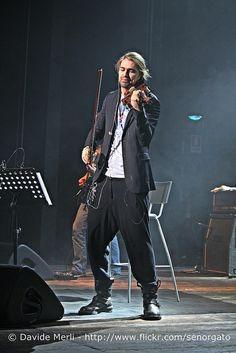 David Garrett @ Teatro Smeraldo, Milano. Pics by Davide Merli