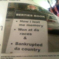 Bertie's Book