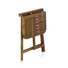Youk Demi table pliante pour balcon acacia huilé 31.99€