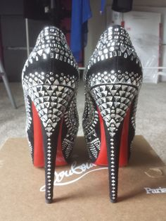 Haute red bottoms!!  Christian Louboutin