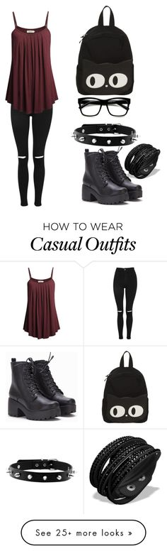 """""""Simple Casual"""" by maplegamer on Polyvore featuring Topshop"""