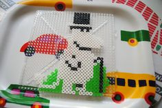 www.ericalaurell.se » Moomin Fuse Beads, Perler Beads, Knitting Charts, Bead Patterns, Fans, Books, Crafts, Diy, Libros