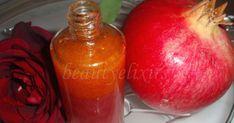 Beauty Elixir, Skin Care Treatments, Beauty Recipe, Hot Sauce Bottles, Pomegranate, Serum, Soap, Healing, Fruit
