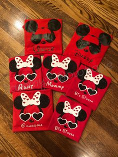 Excited to share the latest addition to my shop: Personalized mickey and minnie sunglasses Shirts.