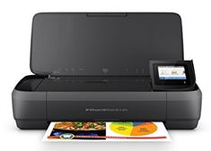 HP OfficeJet 250 All-in-One Portable Printer with Wireless & Mobile Printing Printer Driver, Hp Printer, Inkjet Printer, Best Portable Printer, Mobile Printer, Best Printers, Multifunction Printer, Hp Officejet, Look Good Feel Good