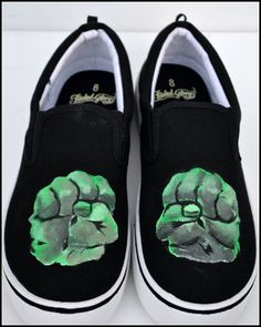 The Hulk Shoes Mens Shoes-The Hulk Hulk Sneakers for by PricklyPaw