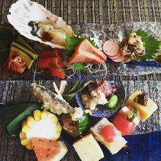 When sushi meets sashimi kaiseki  #sashimi #kaiseki #nomnomnom #saturdate by paramitadee