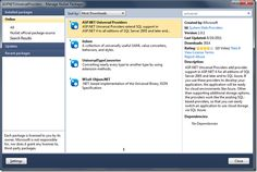 ASP:NET Providers universal