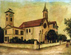 utrillo paintings | Beaulieu Church - Maurice Utrillo - WikiPaintings.org