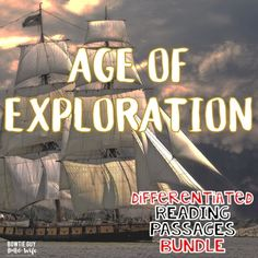 Age of Exploration Differentiated Reading Passages of Famous European Explorers. In this resource, there are nonfiction reading passages based on Explorers Unit, Early Explorers, Social Studies Curriculum, Guided Reading Groups, Exploration, Reading Passages, Close Reading, Differentiation, Nonfiction
