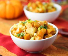 Maple Roasted Butternut Squash, Leek and Apple! 1 sm butternut squash ...