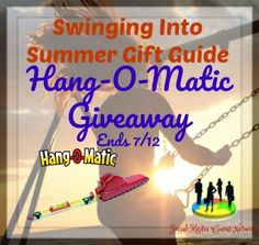 Hang-O-Matic Giveaway Ends 7/12 2 Winners ~ Tales From A Southern Mom