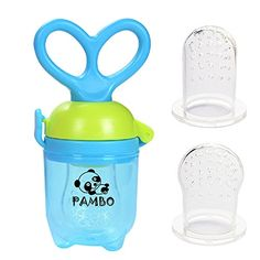PAMBO Baby Food Feeder-Infant Solid Fruit Feeder & Veggie... https://www.amazon.com/dp/B01IM6VQ38/ref=cm_sw_r_pi_dp_x_zyazzbE2QYYK5
