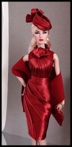 OOAK Fashions for Silkstone / Fashion Royalty / Vintage Barbie -- With Zipper
