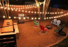 backyard string lights rh pinterest com