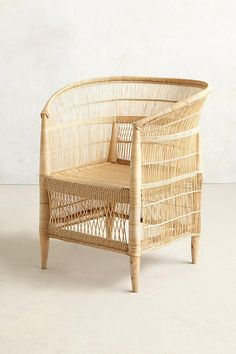 Woven Isla Chair | Anthropologie