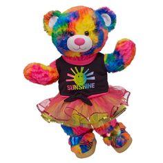 Bright & Sunny Tropicolor Teddy - Build-A-Bear Workshop US $40.50