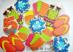Swimming - Summer Themed Cookies