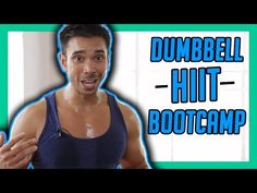 10 Minute HIIT Bootcamp Workout with Weights | Mike Donavanik (MikeDFitness) - YouTube