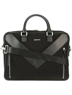 Diesel 'Mr V-Brief' briefcase