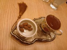 Turkish coffee (with my objective)