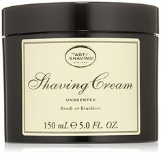All Natural Homemade Shave Cream