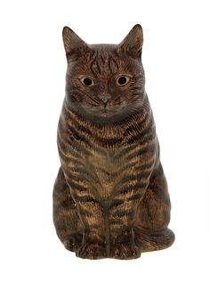 Quail Ceramanics loveable range of named cats 'The Moggies'. www.quailceramics.co.uk