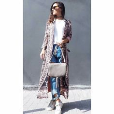 Duster Coat, Chic, Sweaters, Jackets, Dresses, Style, Fashion, Shabby Chic, Down Jackets
