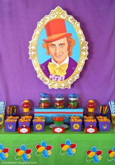 WILLY WONKA - CHARLIE AND THE CHOCOLATE FACTORY