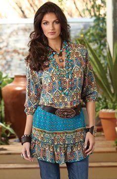 tunics for older women | Too Cute Tunics