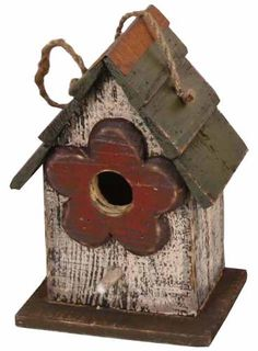Birdhouses  Garden Decoration ZH3016C Birdhouse, 9.5-Inch, Cream Patio Design *** This is an Amazon Associate's Pin. Clicking on the image will lead you to the website.