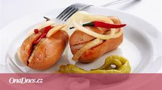 Czechia the heart of Europe Czech Recipes, Ethnic Recipes, Pickled Sausage, Stuffed Sweet Peppers, Baked Potato, Yummy Food, Snacks, Vegetables, Breakfast